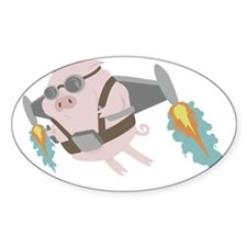 Pigs Can Fly! Decal