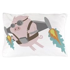 Pigs Can Fly! Pillow Case