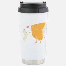 Mac and Cheese Forever Stainless Steel Travel Mug