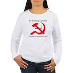 Ohio Smoking Ban Sign Women's Long Sleeve T-Shirt