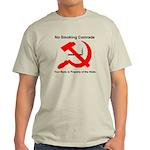 Ohio Smoking Ban Sign Light T-Shirt