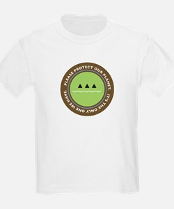 ecology logo Kids T-Shirt