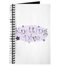 """Knitting Diva"" [purple] Journal"