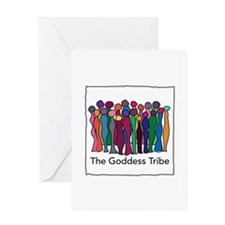 Goddess Seal Greeting Cards