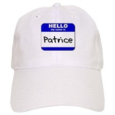 hello my name is patrice Baseball Cap