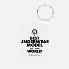 The Best in the World Underwear Model Keychains