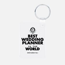 The Best in the World Wedding Planner Keychains