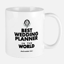 The Best in the World Wedding Planner Mugs