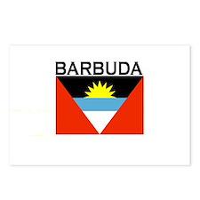 Barbuda Flag Postcards (Package of 8)