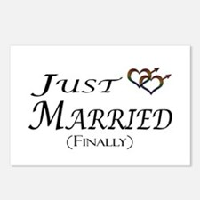 Finally Married Gay Pride Postcards (Package of 8)