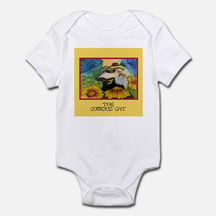 The Curious Cat Infant Bodysuit