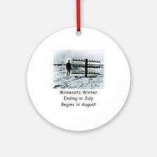Winter in... Ornament (Round)