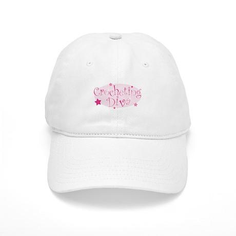"""Crocheting Diva"" [pink] Cap"