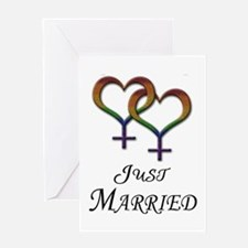 Just Married - Lesbian Pride - Marriage Equality G