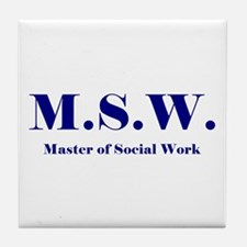 MSW (Design 2) Tile Coaster