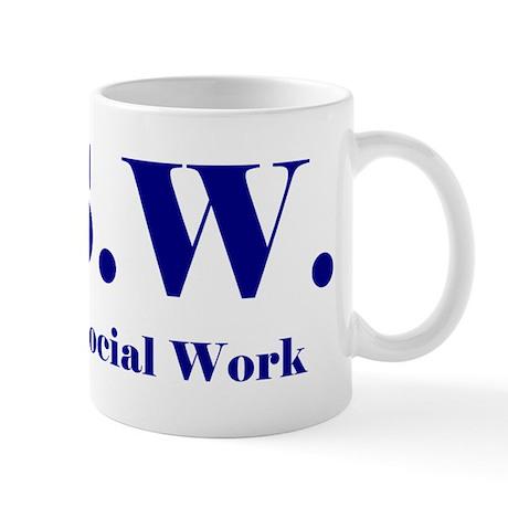 MSW (Design 2) Mug