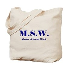 MSW (Design 2) Tote Bag