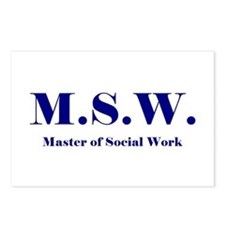 MSW (Design 2) Postcards (Package of 8)