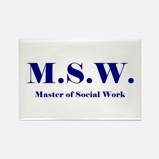 MSW (Design 2) Rectangle Magnet (10 pack)