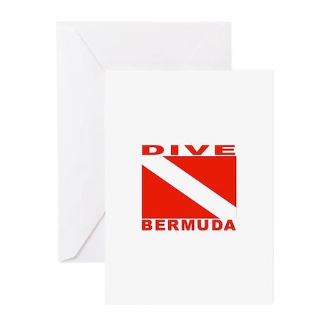 Dive Bermuda Greeting Cards (Pk of 10)