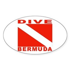 Dive Bermuda Oval Decal