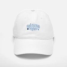 """Quilting Diva"" [blue] Baseball Baseball Cap"