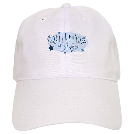 """Quilting Diva"" [blue] Cap"