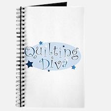 """Quilting Diva"" [blue] Journal"
