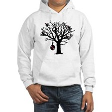 Musical Birds in Tree 1 rot Hang Jumper Hoody