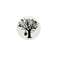 Musical Birds in Tree 1 rot Hangman Vi Mini Button
