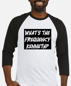 WHAT'S THE FREQUENCY? Baseball Jersey