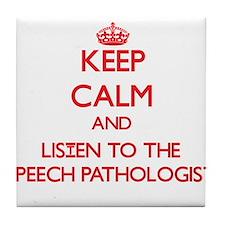 Keep Calm and Listen to the Speech Pathologist Til