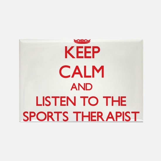 Keep Calm and Listen to the Sports Therapist Magne