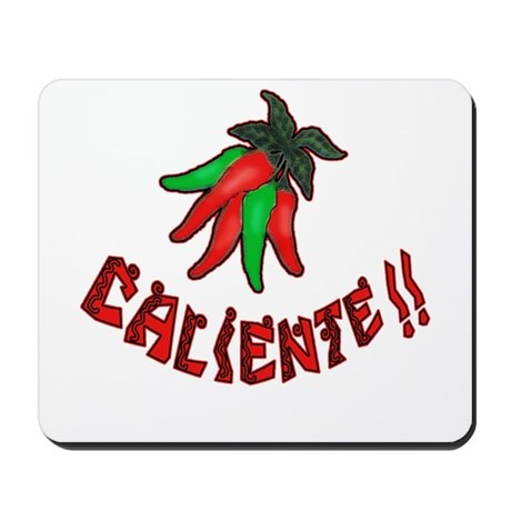 Caliente Chili Peppers Mousepad