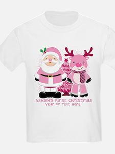 Personalize Pink Santa! T-Shirt