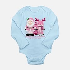 Personalize Pink Santa! Baby Outfits