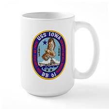 USS IOWA Mugs