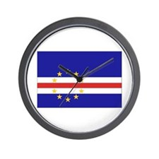 Cute Cape verde Wall Clock