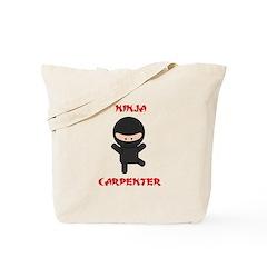 Ninja Carpenter Tote Bag