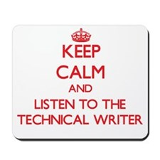 Keep Calm and Listen to the Technical Writer Mouse
