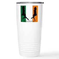 Irish Dancer (Flag) Travel Mug