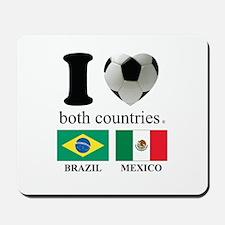 BRAZIL-MEXICO Mousepad
