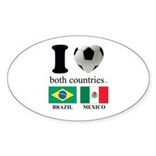 BRAZIL-MEXICO Decal