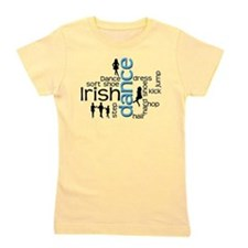 Irish Dance Words Girl's Tee