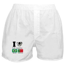 BRAZIL-PORTUGAL Boxer Shorts