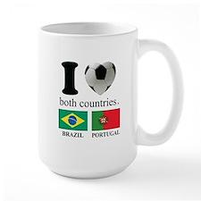 BRAZIL-PORTUGAL Mug