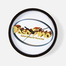 Paso Fino GH 4 Dummies Wall Clock