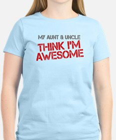 Aunt and Uncle Awesome T-Shirt