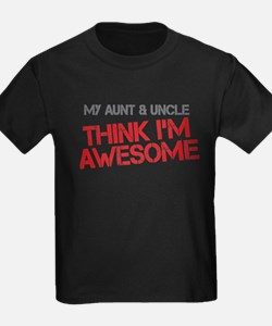 Aunt and Uncle Awesome T