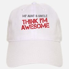 Aunt and Uncle Awesome Baseball Baseball Cap